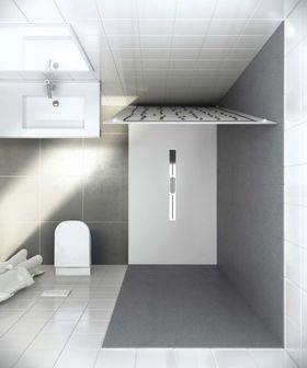 Panneau mural salle de bain moderne vaucluse salle d 39 o for Panneau composite salle de bain