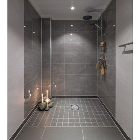 panneau mural salle de bain moderne vaucluse - Salle De Bain Photos