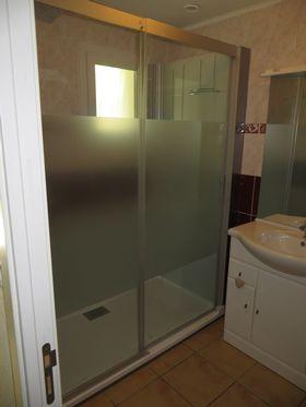 cabine de douche marguerrites 30 salle d 39 o. Black Bedroom Furniture Sets. Home Design Ideas