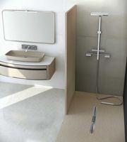 panneau mural salle de bain moderne vaucluse salle d 39 o. Black Bedroom Furniture Sets. Home Design Ideas