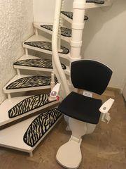 Monte escaliers tournant Avignon